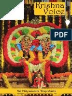 Krishna Voice March 2018