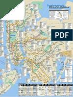 Official Nyc Subway Map Pdf.Mta New York City Subway Map