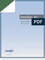 Letter to Shareholders
