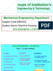 0 Engineering Curves by Prof.syed Siraj Ahmed