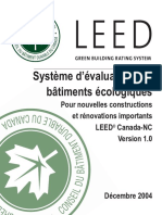 LEED Canada_NC Rating System_French