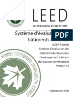 LEED Canada CI Rating System French