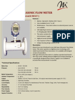 Bulk Type Ultrasonic Flow Meter | Ultrasonic Flow Meter | Manas Microsystems Pvt. Ltd.