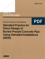 Standard Practice for Direct Design of Buried Precast Concrete Pipe Using Standard Install