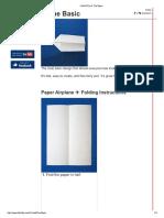 Fold N Fly ✈ The Basic