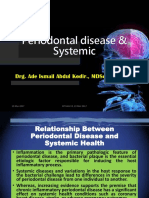 Periodontal disease & Systemic, 19 Mei 2017 revisi.pptx