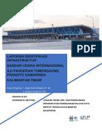 IDENTIFIKASI Infrastruktur wilayah Bandara Samarinda Baru