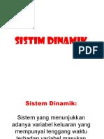 Sistem Dinamik