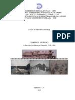 A Ferrovia e a Cidade de Parnaíba, 1916-1960