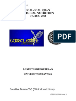 Project Soal Nutrisi CSQ 2014