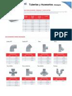 Tuberias y Accesorios Desague Inyectoplast