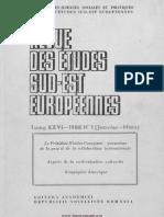 Revue Des Etudes Sud Est Europeenes 26-49-1988 2011