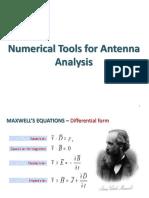 Numerical Tool for Antenna Analysis