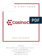 CasinoCoin - A CryptoSpective Review