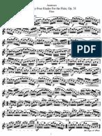 Andersen,J.24 estudios op.33 completo Ed.Sheet music.pdf