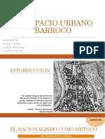 Espacio Urbano Barroco