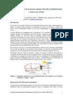 Dinamica y Balance de La Materia Organica Del Suelo - Fertilidad Actual o Captura de Carbono - Galantini 2008