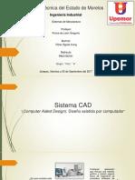 Presentacion de Sistemas CAD, CAE, CAM_Pérez_Águila_Irving