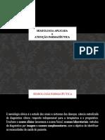 SEMIOLOGIA - FARMACÊUTICO