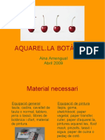 Aquarel La Botanica