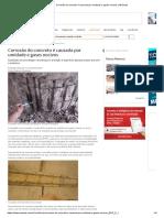 Corrosão Do Concreto é Causada Por Umidade e Gases Nocivos _ AECweb