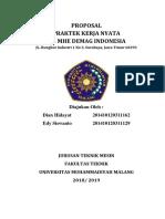 Proposal Pkn - Mhe