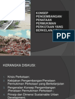 Pengenalan Konsep Permukiman Perkotaan