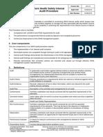 Internal Audit Procedure - Adopted 13082013