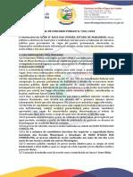 CastroDigital Edital Concurso 2018 Prefeitura Olho DAgua Das Cunhas MA