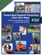 Great Lakes Research Consortium 2015-2017 Report