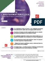 Investissement Public Local BPCE 2018