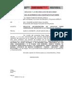 INFORME N° 01-2018-MDNCH-GDU-HAMA- autorizacion de viaticos