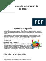 Principios de La Integración de Las Cosas (Estudiar)