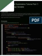 44323 Windows Kernel Exploitation Tutorial Part 7 Uninitialized Heap Variable