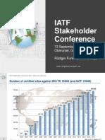 03 IATF Stakeholder Conference 2017 Ruediger Funke FINAL