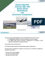 20150708-03 Superjet100- E190 A319 Comparison
