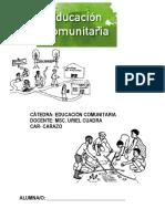 Qué Es La Educación Comunitaria
