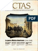 ACTAS La guerra México-Americana (1846-1848)