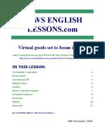 091229 Virtual Economy