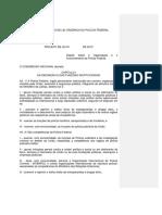 Minuta de Projeto de Lei Organica Da Policia Federal Proposta Conjunta