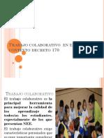 3. Trabajo Colaborativo y Coordinación