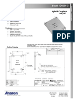 1D0261-3  Hybrid Couplers  3 dB, 90o _DataSheet.pdf