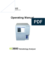 KD3800 New Operating Manual