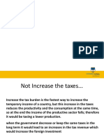 subir impuestos o bajar transferencias