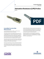 Roxar Retrievable LPR Probes Data Sheet