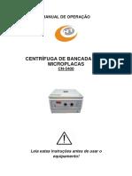 Manual de Operação Centrifuga CN-5400