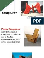 what is planar sculpture 2018