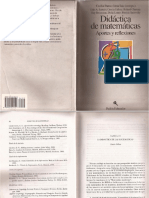 Didáctica de Matemáticas Aportes y Reflexiones