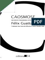 Caosmose Felix Guattari
