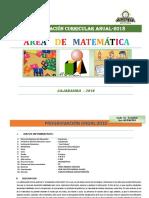 Mat1-Programacion Anual 2018